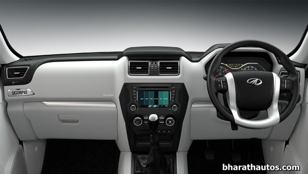 new-generation-mahindra-scorpio-interior