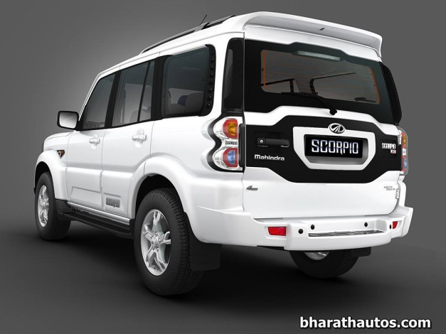 new-generation-mahindra-scorpio-rear