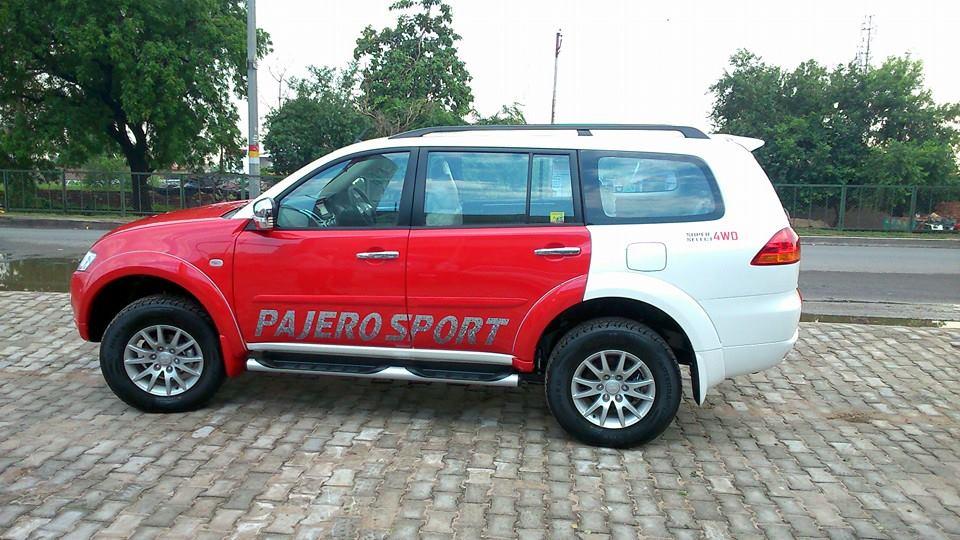 Mitsubishi Pajero Sport Now With Dual Tone Paint Job