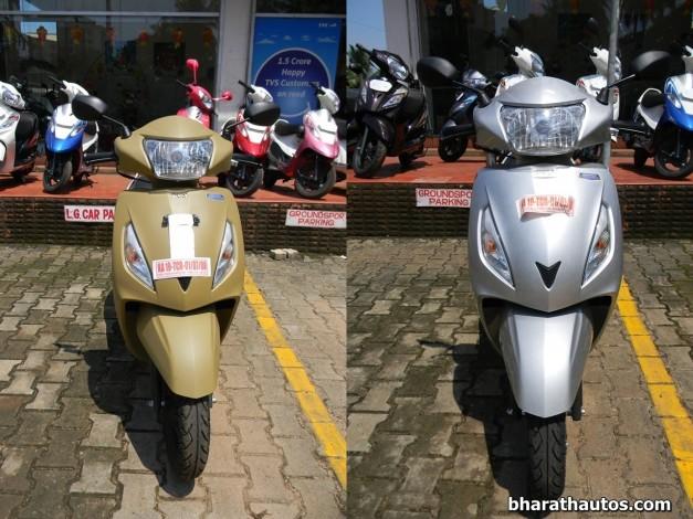 tvs-jupiter-matte-beige-sparkling-silver-front