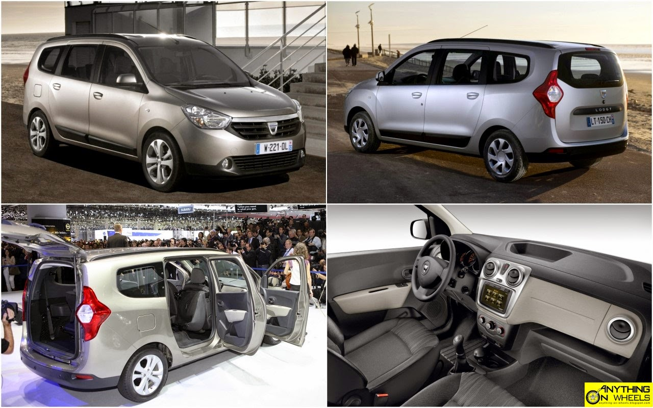 Locally-produced Renault Lodgy MPV - interior view spied!