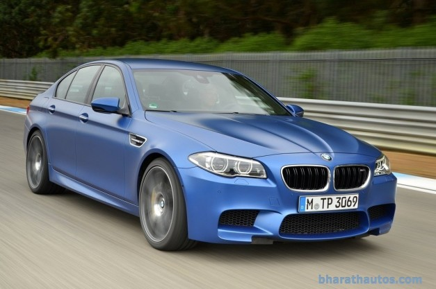 facelifted-f10-bmw-m5-india-front