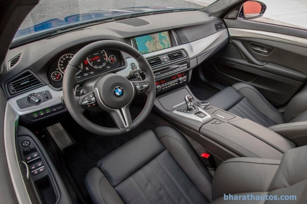 facelifted-f10-bmw-m5-india-interior-inside