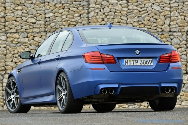 facelifted-f10-bmw-m5-india-rear