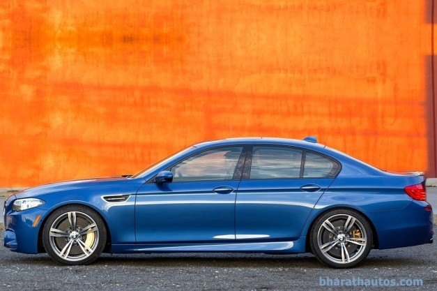facelifted-f10-bmw-m5-india-side