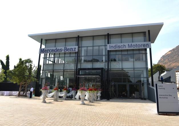 mercedes-benz-world-class-3s-facility-nashik-exterior