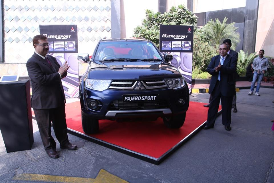 Mitsubishi India Launches Pajero Sport Automatic Priced At