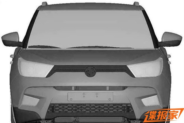 ssangyong-xiv-x100-sketches-leaked-front