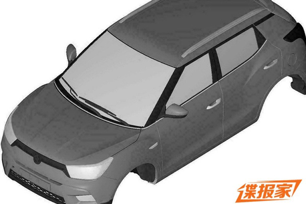 ssangyong-xiv-x100-sketches-leaked
