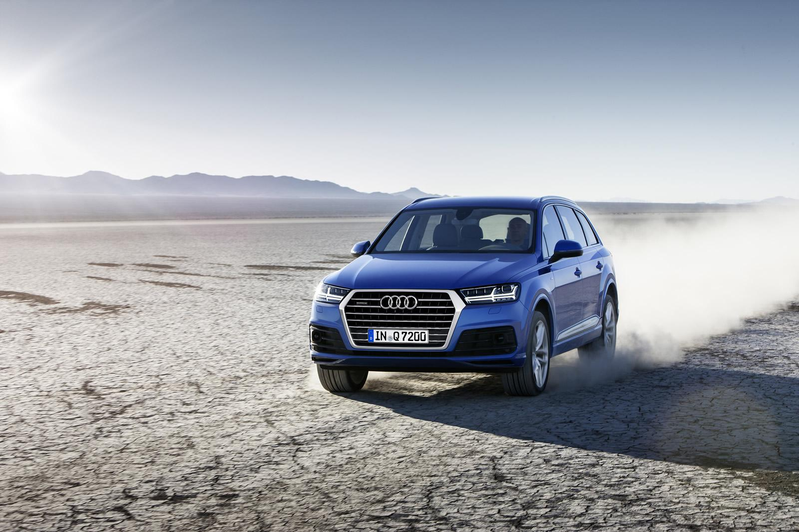 2016 Audi Q7 Official Photo Released Complete Details Out