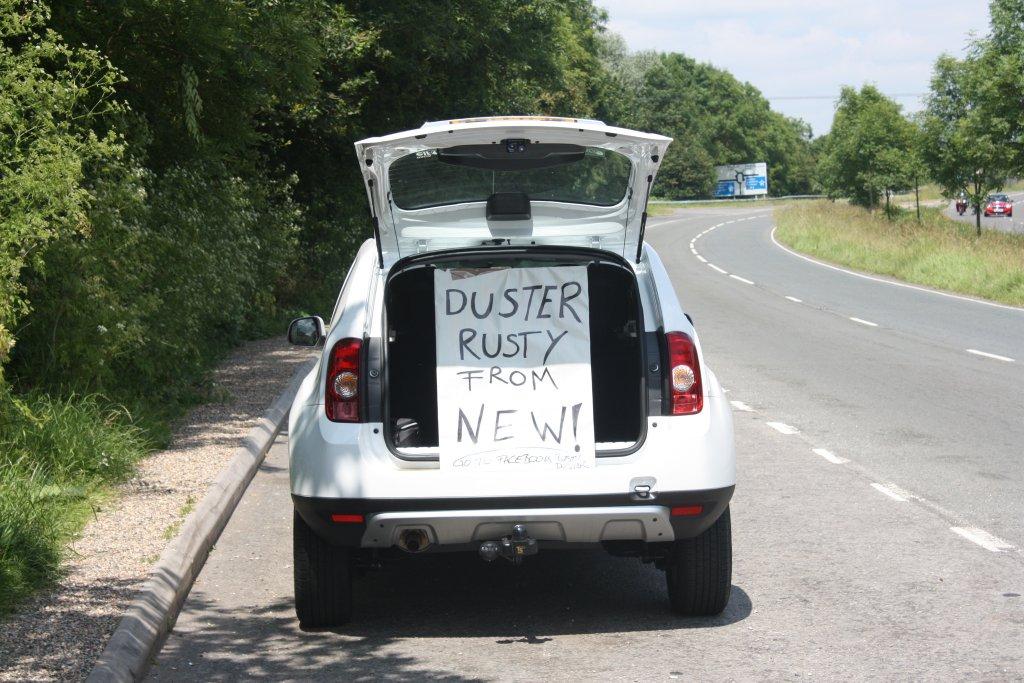India Made Renault Dacia Duster Called Rusters In Uk