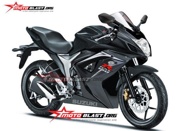 Rendered Suzuki Gsx R 150 Fully Faired Gixxer 155