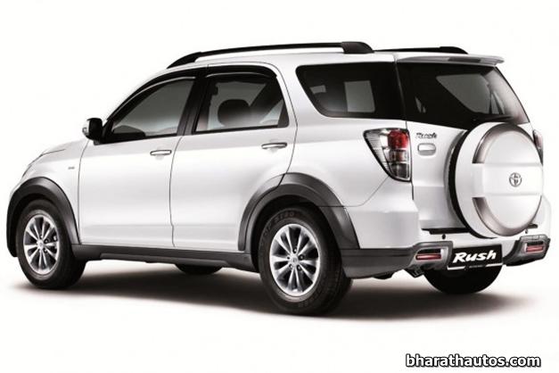 SPIED: Toyota Rush Compact SUV benchmarked against Nexon, YBA, ix25