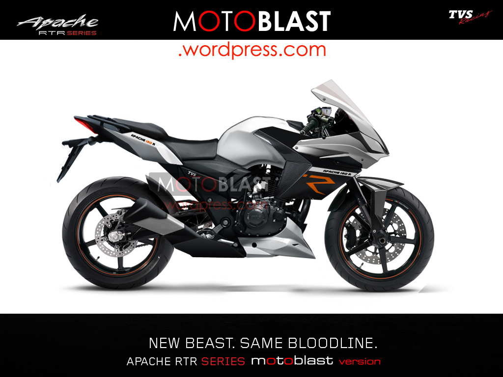 TVS Apache RTR 200 To Debut Alongside An Updated RTR 180 & 160