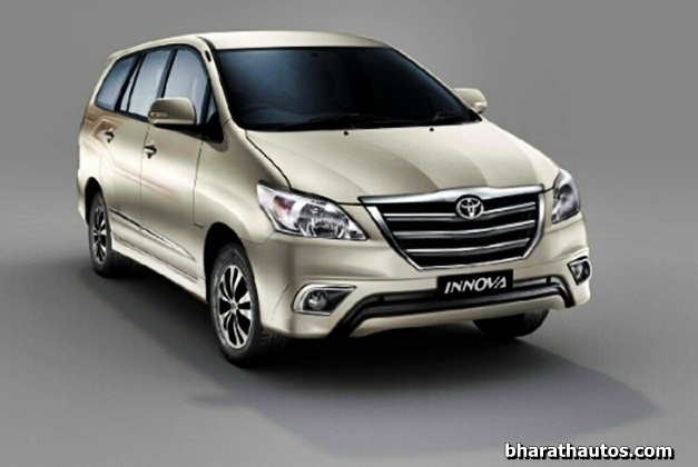Toyota India Welcomes New Year With The Updated Innova And