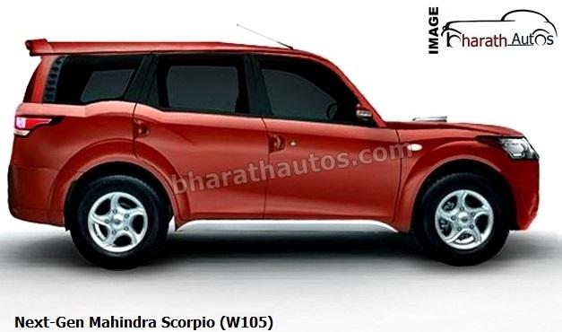 Next-Gen-Mahindra-Scorpio-facelift-W105