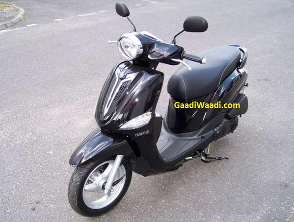 Yamaha-Delight-front-spied-india