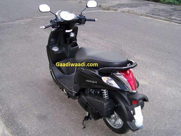 Yamaha-Delight-rear-spied-india