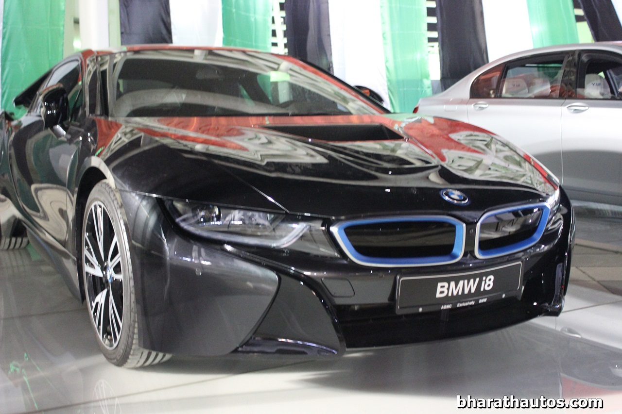 Bmw I8 Spied In India Before Febraury 2015 Launch