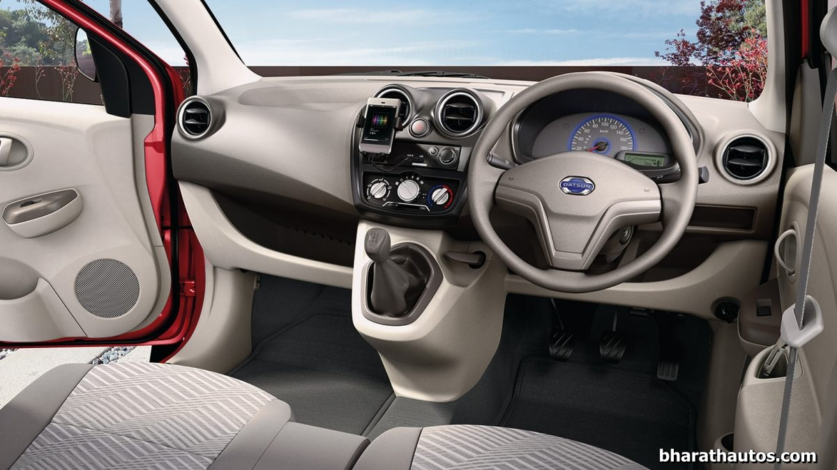 Datsun Go Plus 7 Seater Mpv Interior Bharathautos Automobile