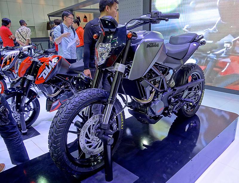 Customised Duke 200 Showcased At Thailand Motor Show Will