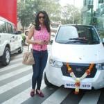 mahindra-reva-e2o-birthday-gift-gul-panag