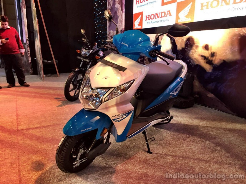 2015 honda dio facelift front