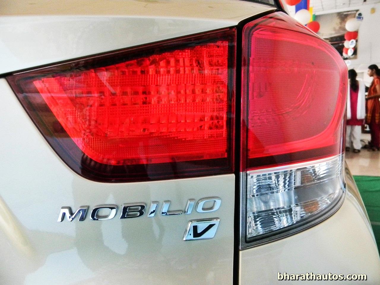 Honda Mobilio Taillights Bharathautos Automobile News Updates