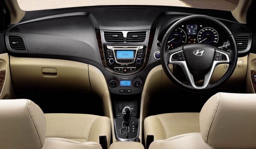 Hyundai Verna Fluidic 4s Interior