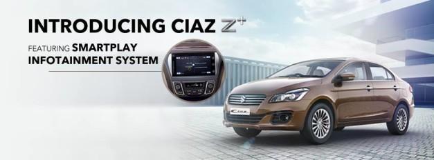 maruti-ciaz-z-plus-variant-smartplay-infotainment-system
