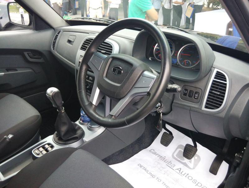 Tata Motors Drb Hicom Tata Xenon Malaysia Interior Bharathautos