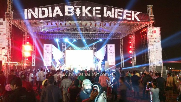 third-edition-india-bike-week-2015-stage
