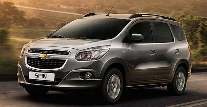 Chevrolet Spin Mpv India Bharathautos Automobile News Updates