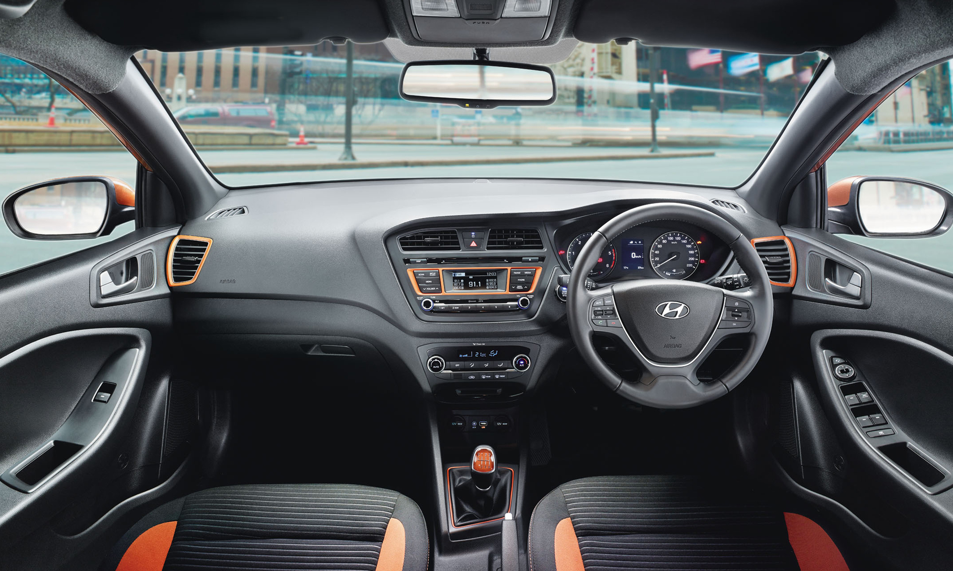 Hyundai I20 Active Dashboard