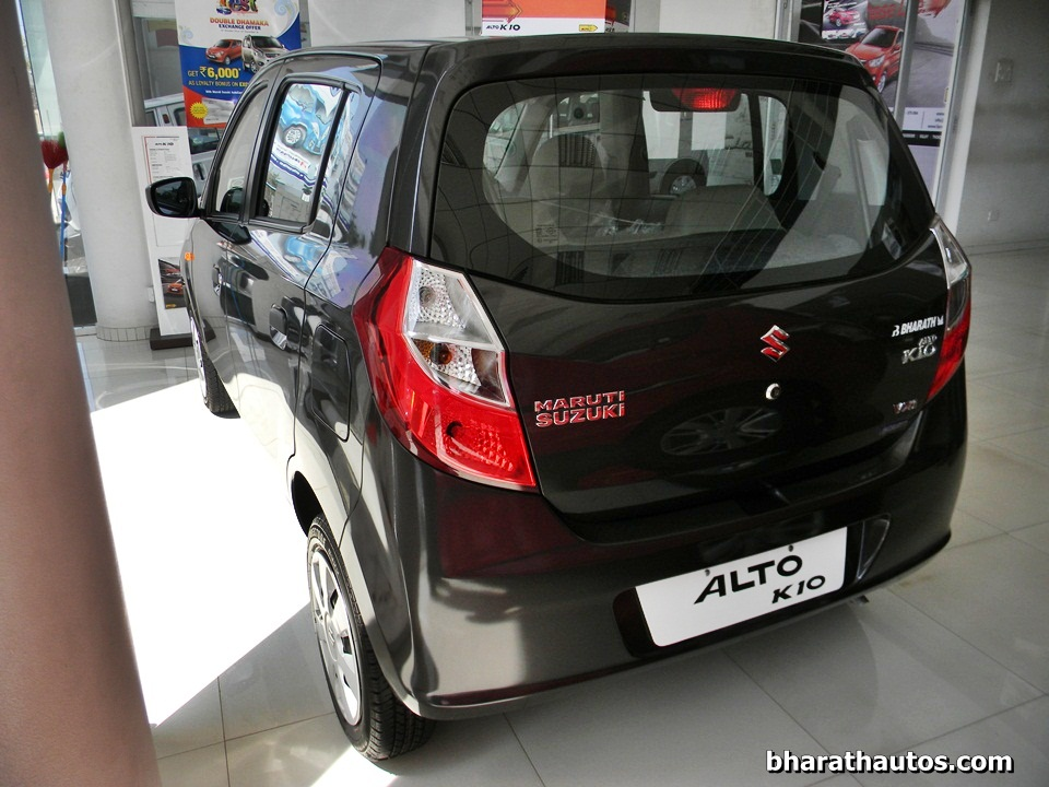 New Maruti Alto K10 Rear Bharathautos Automobile News