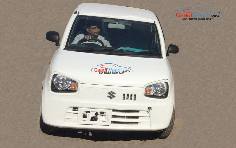 Suzuki Alto Kei Spotted In India To Break Cover At Indian