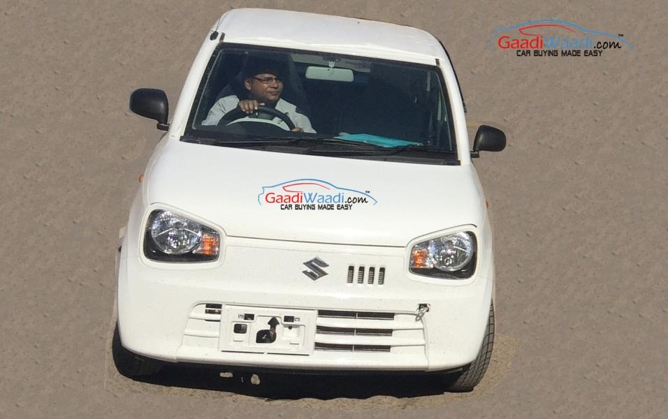 Suzuki Alto Kei Spotted In India To Break Cover At Indian Auto Expo 2016