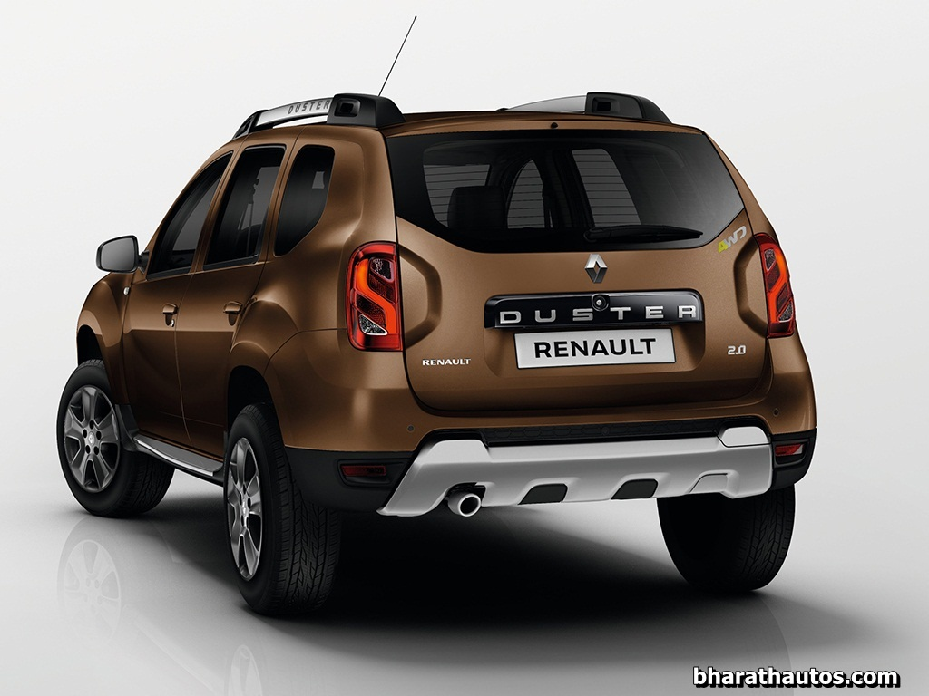 2015-renault-duster-facelift-rear-india - bharathautos - automobile