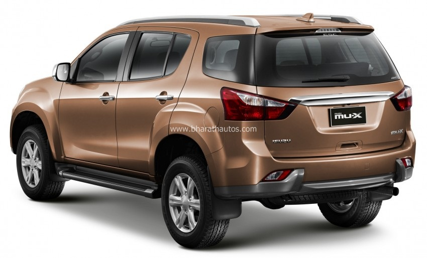 Isuzu Is Readying Up The Mu X Suv For An Indian Launch