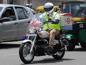 karnataka-gets-two-wheeler-motorcycle-ambulances-may-get-air-ambulance-too