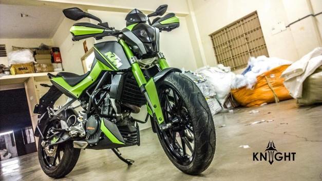 modified-ktm-200-duke-green-shade-knight-auto-customizer