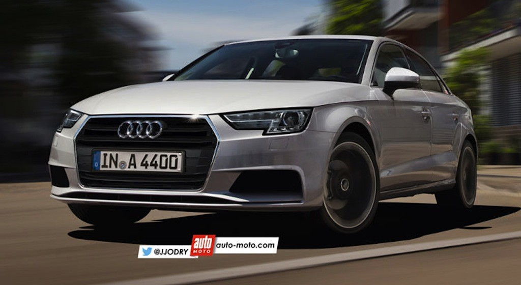 rendered audi s next gen a4 is lighter faster more luxurious than ever. Black Bedroom Furniture Sets. Home Design Ideas
