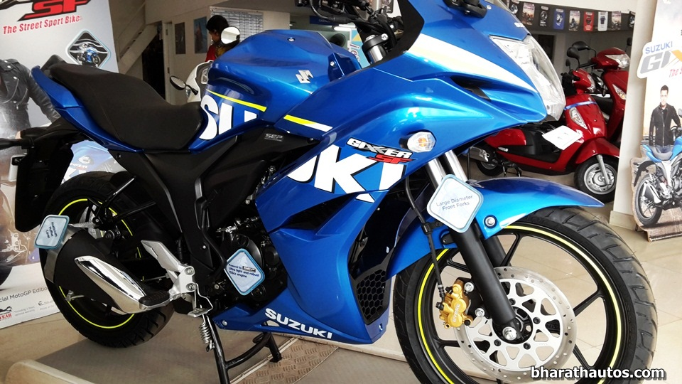 Suzuki Gixxer SF launched, new full-faired variant at Rs ...