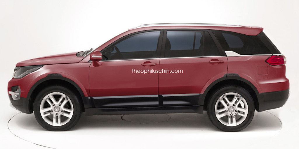 Rendered Tata S Upcoming Suv By Theophilus Chin With