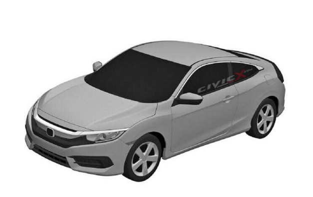 2016-honda-civic-coupe-patent-leaked