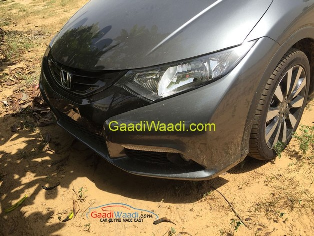 honda-civic-hatchback-front-end-imported-to-India-for-RD-purpose