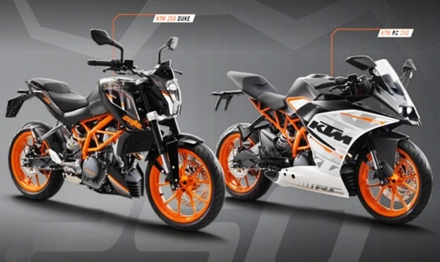 Ktm Duke 250 Rc 250 Exports Of Made In India Motorcycles