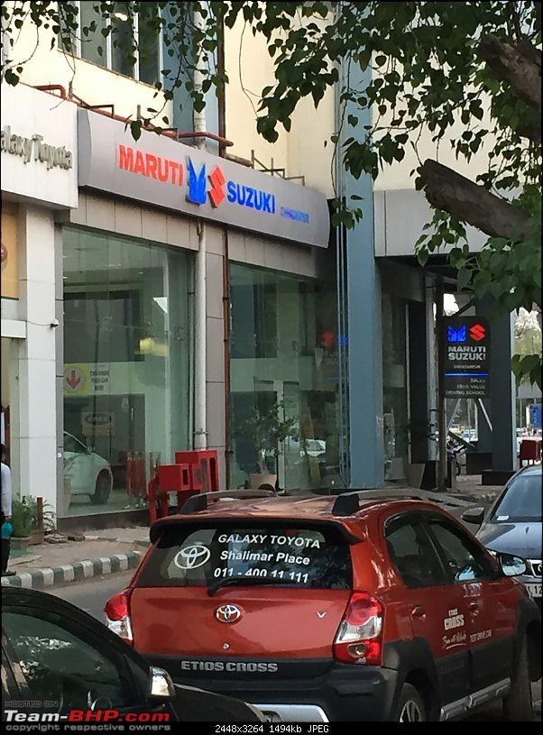 maruti swift used as cab by dealership before being sold to a customer. Black Bedroom Furniture Sets. Home Design Ideas