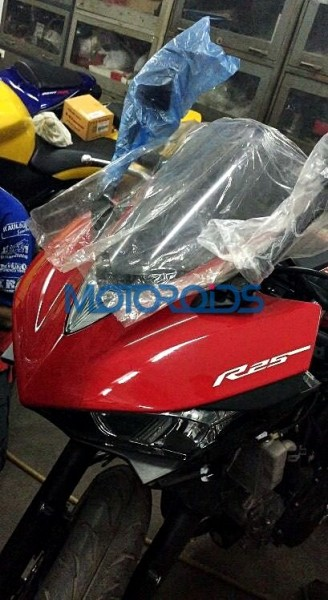 yamaha-yzf-r25-spied-front-india