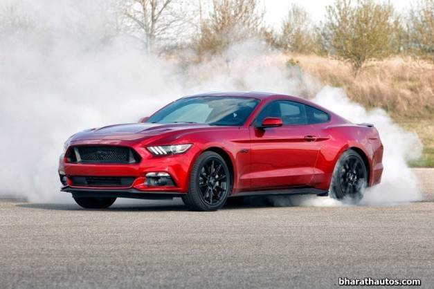 ford-mustang-india-front-view